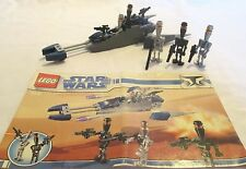Lego Star War #8015 Assassin Droids Battle Pack 94 pcs, ages 6-12, No box