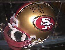 Steve Young San Francisco 49ers Hofer Hand Signed Mini Helmet In A Case w/COA