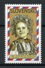 Slovakia 2018 MNH Czecho-Slovakia 100 Years 1v Set Traditional Costumes Stamps