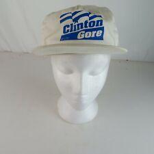 Vtg Snapback Rope Hat Cap - Bill Clinton Al Gore Presidential Election Campaign