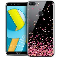 "Coque Gel Pour Huawei Honor 9 LITE (5.7"") Souple Sweetie Heart Flakes"