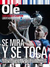 SAN LORENZO Champion Libertadores 2014 OLE SPECIAL Magazine RARE !!