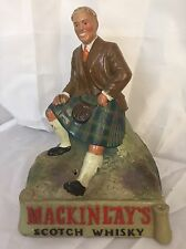 Vintage & Very Rare Mackinlay's Scotch Whisky Advertising Figure: Whiskey