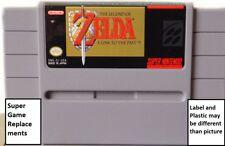 Legend of Zelda: A Link to the Past SNES Super Nintendo, Saving Game, USA Ship