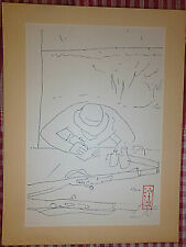 Vietnam Liberation War Art - Writing A Letter Home - Nlf - Viet Cong - 42