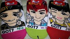 GOT7 SOCKS 3 pairs - FLIGHT LOG : DEPARTURE HOME RUN - kpop jyp bam jb