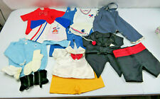 Lot of Vintage Baby or Dolls Boy clothes pants Vest Beanies Socks (Lot 4)