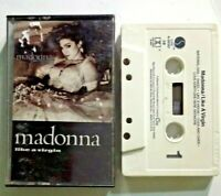 MADONNA Like A Virgin Cassette 1984 vintage