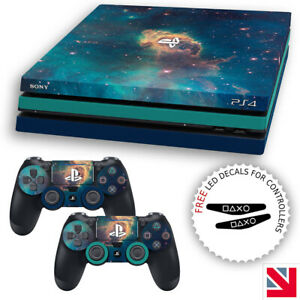Galaxy Print Nebula Space Stars PS4 PRO Skin Decal Vinyl Sticker Wrap