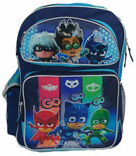 """PJ Masks Large 16"""" inches School Backpack BRAND NEW - Licensed Product"""