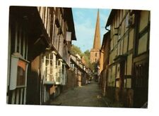 Herefordshire - Ledbury, Church Lane - Postcard Franked 1989