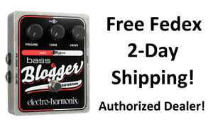 New Electro-Harmonix EHX Bass Blogger Distortion/Overdrive Bass Effects Pedal