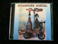 """STEAMPUNK WENZEL~Frowning Francis 8"""" mixed media man~contraption doll ptn on CD"""