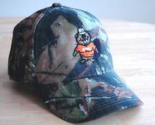 "Stihl ""Beaver"" Mossy Oak Break Up Camo Fabric Hat / Cap Adjustable"