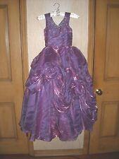 Gorgeous OOAK Pageant party Princess custom made purple dress sz 5 - 6 glitz