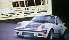 DECAL CALCA 1/43 PORSCHE 911 SC CARLOS SAINZ RALLY ESPAÑA HISTÓRICO 2013