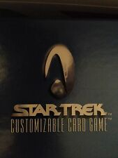 Star Trek CCG 2E Premiere Starter Deck TOTAL 4 STARTERS 1 OF EACH PICTURE NEW