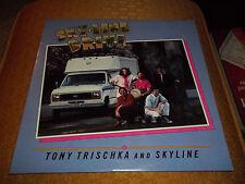 Skyline Drive Tony Trischka And Skyline Rare Autographed 1986 Banjo LP Fast Ship