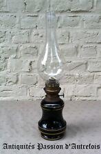 B2017620 - Très belle lampe à pétrole ancienne en porcelaine - Très bon état