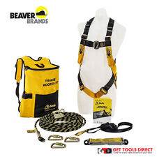 New Beaver B-Safe Roofers Safety Harness Kit BK061215TRAD
