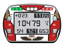 Dr Racing Kart Estilo Gel Pegatina Para lap timer Alfano PRO III Evo-Karting