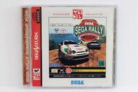 SEGA RALLY Championship Plus Collection W/ Spine Reg SEGA Saturn SS Japan Import