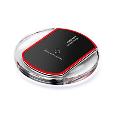 Qi Wireless Charger Fast Charging Pad for iPhone Samsung LG HTC Phone Tablet Pad