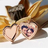 Joyas Cadena Amante Colgante Foto imagen relicario En forma de corazon Collar