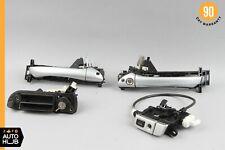 03-06 Mercedes R230 SL500 SL55 Door Glovebox Trunk Lid Lock Latch Handle w/ Key