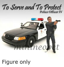 AMERICAN DIORAMA POLICE OFFICER  FIGURE FOR 1/18  DIECAST AD-24014 OFFICER IV