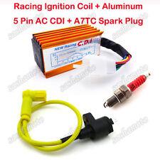 Racing Ignition Coil CDI Spark Plug For Dirt Pit Bike 50cc 90cc 125cc 150 160cc