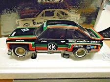 1/18 MINICHAMPS 100768433 Ford ESCORT II RS 1800 Rennsportmeisterschaft 1976