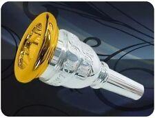 Mouthpiece Trombone./euphonium large shank Jc Custom Ultra 6 1/2