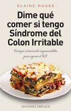 Dime que comer si tengo  sindrome de colon irritable (Salud Y Vida-ExLibrary