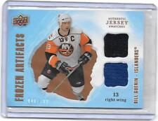 BILL GUERIN 2008-09 UD FROZEN ARTIFACTS DUAL 2 COLOR GAME USED JERSEY#/199
