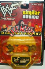 "1999 WWF Fast Action Mini-Skateboard Similar Device New Sealed ""The Rock"""