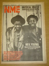 NME 1982 OCT 9 MUSICAL YOUTH NEIL YOUNG PIL THE THE