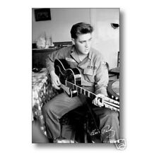 Elvis Presley US Army Wall Poster Art 24x36 Free Shipping