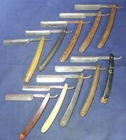 (10) Straight Razor Lot - Hollow Ground - Estate - Vintage - Lot #1