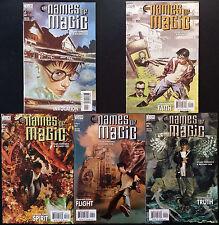 The names of Magic 1 2 3 4 5 DC Comics vertigo usa 2001 timothy Hunter