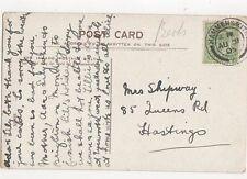 Mrs Shipway Queens Road Hastings 1905  301a