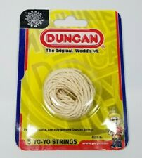 Duncan Yo-Yo String White Cotton 5 Pack