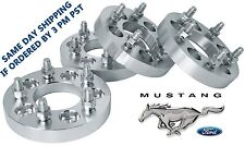 """1994-2014 5 LUG FORD MUSTANG WHEEL SPACERS 1"""" THICK 1/2"""" LUG NUTS INCLUDED"""