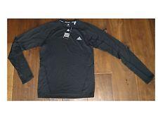Adidas TS ½-zip Cocona L/S Shirt Herren Funktionsshirt Laufshirt Gr.48 /S-M *NEU