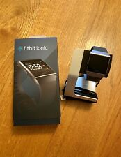 Mint Fitbit Ionic Smartwatch With Stand Charger And Original Box Bundle