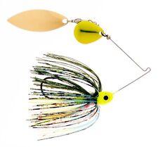 Kajun Boss 1/4 oz Crazy Gill Spinner bait - colorado/willow