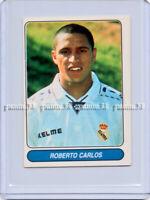 """RARE !! Sticker ROBERTO CARLOS """"EUROPEAN FOOTBALL STARS 1997"""" Panini ROOKIE"""
