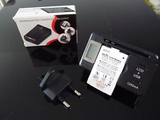 Universal 3.7v Battery Charger with USB output and Italian power wall plug
