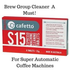 S15 Coffee Machine Cleaning Cleaner Tablets 8 Pk Breville, Saeco Delonghi Jura