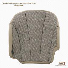 2001 2002 GMC Sierra 2500 2500HD Work Truck Driver Bottom Cloth Seat Cover Tan